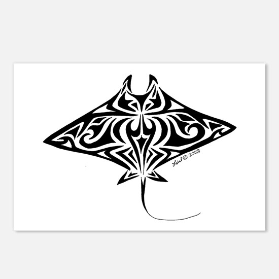 Manta Ray Postcards (Package of 8)