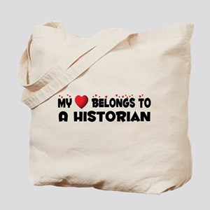 Belongs To A Historian Tote Bag