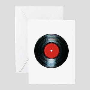 vinyl Greeting Card