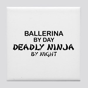 Ballerinia Deadly Ninja Tile Coaster