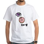 I Donut Know White T-Shirt