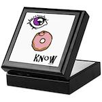 I Donut Know Keepsake Box