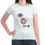 I Donut Know Jr. Ringer T-Shirt