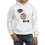 I Donut Know Hooded Sweatshirt
