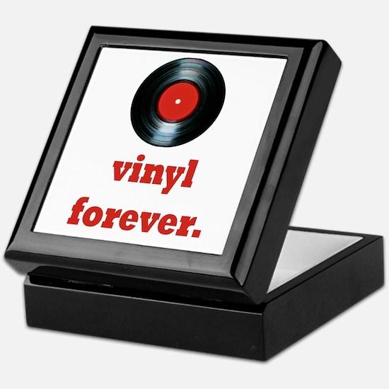 vinyl forever Keepsake Box