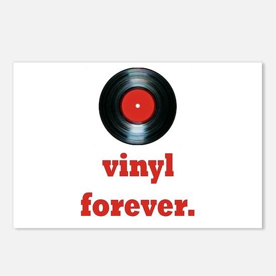 vinyl forever Postcards (Package of 8)