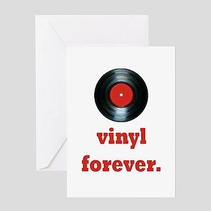 vinyl forever Greeting Card