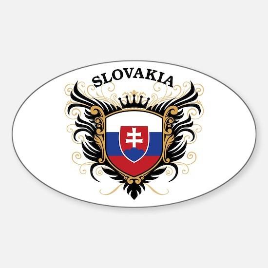 Slovakia Sticker (Oval)