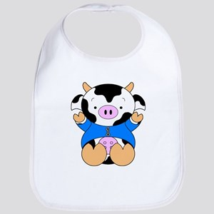 One Year Old Cow Bib