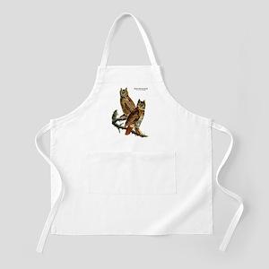 Audubon Great Horned Owls BBQ Apron