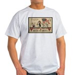 Honor the Brave Ash Grey T-Shirt