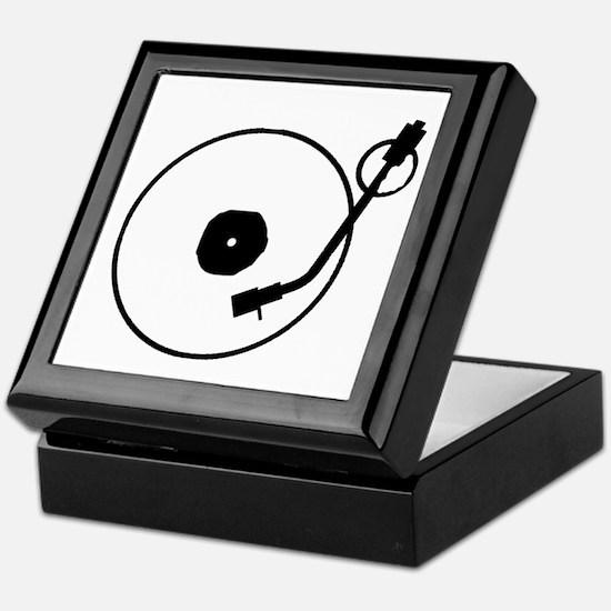Turntable Keepsake Box