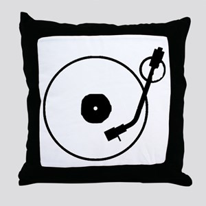 Turntable Throw Pillow