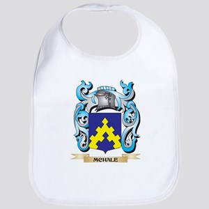 Mchale Coat of Arms - Family Crest Baby Bib