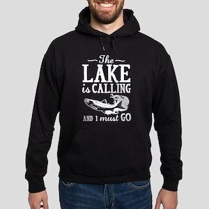 The Lake Is Calling Hoodie (dark)