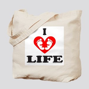 PRO-LIFE/RIGHT TO LIFE Tote Bag