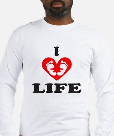 PRO-LIFE/RIGHT TO LIFE Long Sleeve T-Shirt