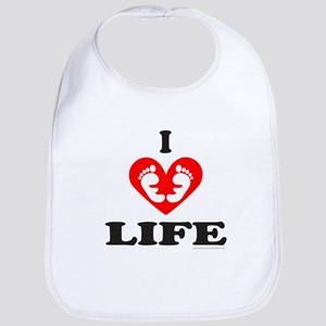 PRO-LIFE/RIGHT TO LIFE Bib