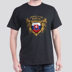 Proud to be Slovak Dark T-Shirt