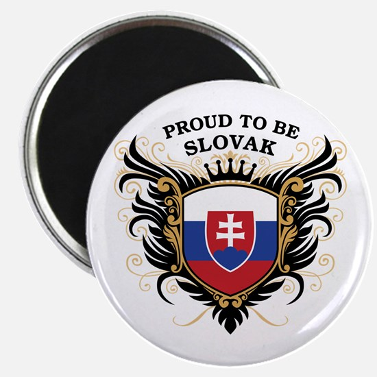 Proud to be Slovak Magnet