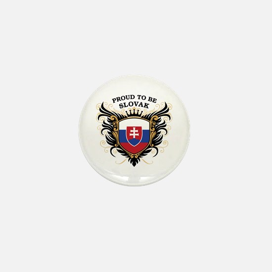 Proud to be Slovak Mini Button