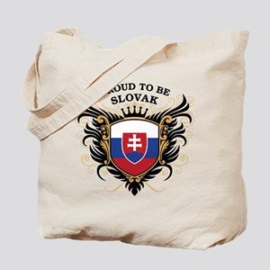 Proud to be Slovak Tote Bag
