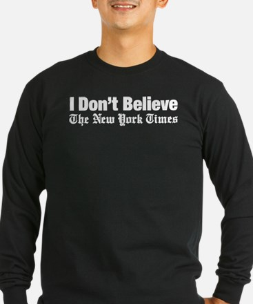 I Don't Believe The New York Times T