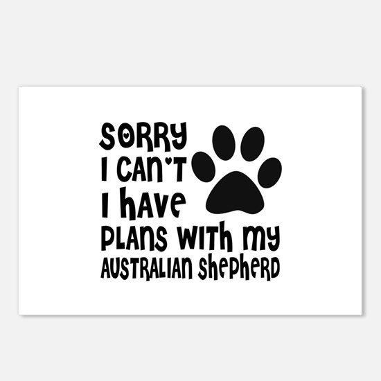 I Have Plans With My Aust Postcards (Package of 8)