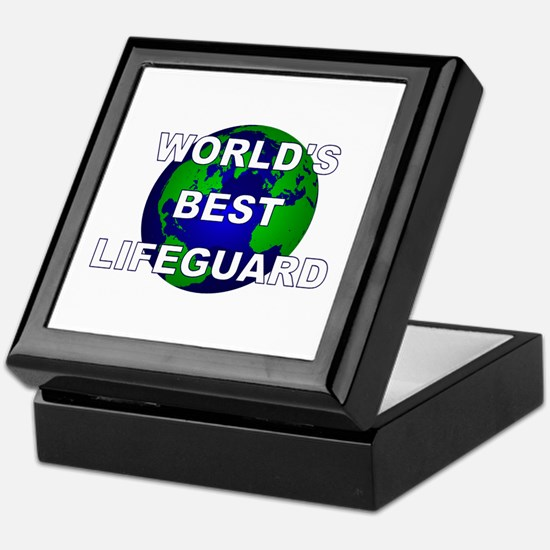World's Best Lifeguard Keepsake Box