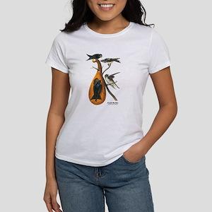 Audubon Purple Martins Bird (Front) Women's T-Shir