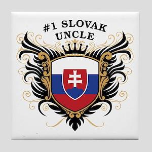 Number One Slovak Uncle Tile Coaster
