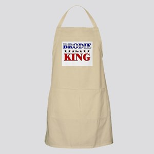 BRODIE for king BBQ Apron