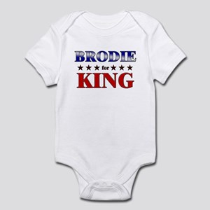 BRODIE for king Infant Bodysuit