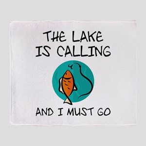 The Lake Is Calling Stadium Blanket