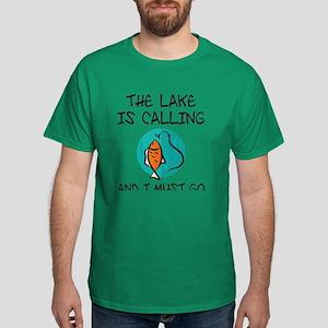 The Lake Is Calling Dark T-Shirt
