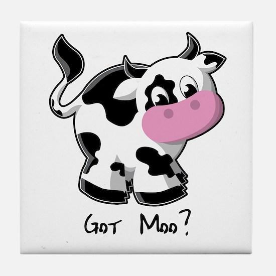 Got Moo? - Cow Tile Coaster