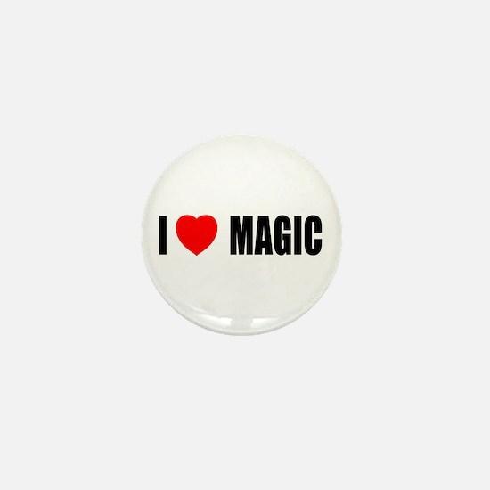 I Love Magic Mini Button