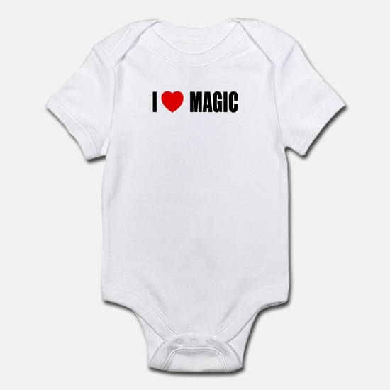 I Love Magic Infant Bodysuit