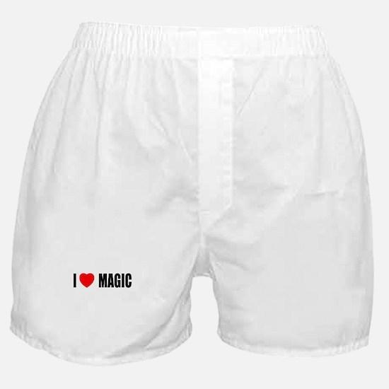 I Love Magic Boxer Shorts