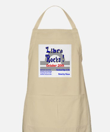 Libra October 20th BBQ Apron