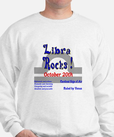 Libra October 20th Sweatshirt