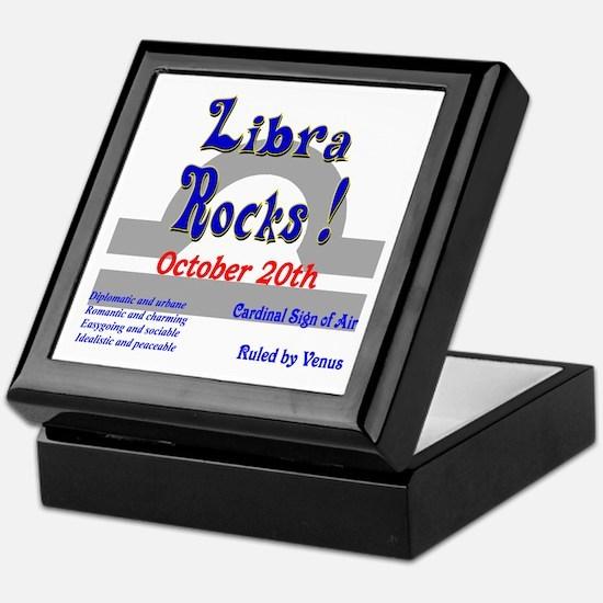 Libra October 20th Keepsake Box