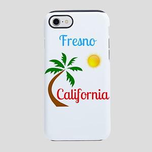 Fresno California Palm Tree iPhone 8/7 Tough Case