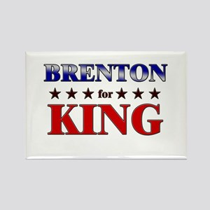 BRENTON for king Rectangle Magnet