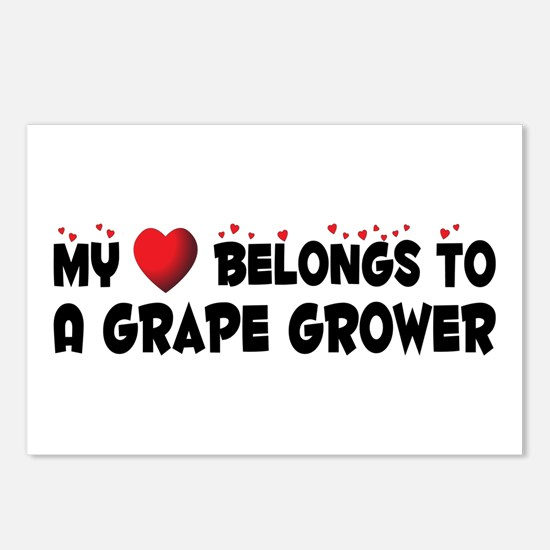 Belongs To A Grape Grower Postcards (Package of 8)