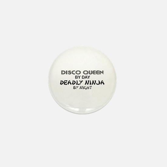 Disco Queen Deadly Ninja by Night Mini Button