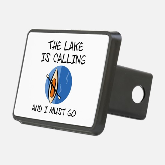The Lake Is Calling Hitch Cover