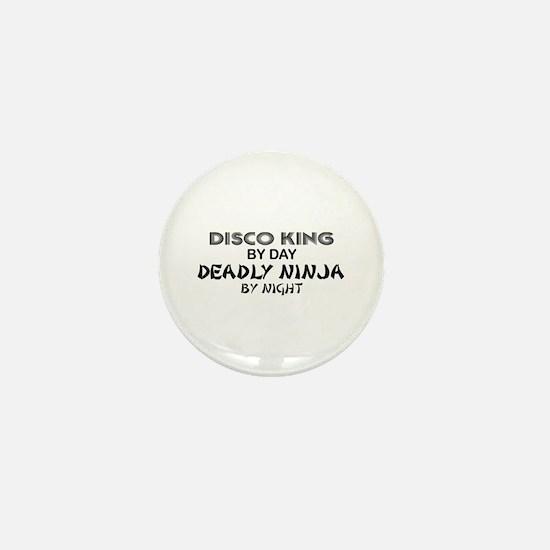 Disco King Deadly Ninja by Night Mini Button