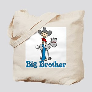 Stick Cowboy Big Brother Tote Bag