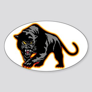 Black Panther Rectangle Sticker